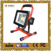 20W Rechargeable Hand Held LED Flood Light for Emergency or Travel