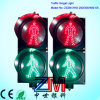 En12368 Certificated 300mm Two Static LED Flashing Pedestrian Traffic Light