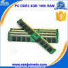 Ett Chips Unbuffered 4GB DDR3 RAM 1600MHz
