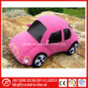 Soft Plush Pink Toy of Famous Brand Car