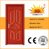 Modern House Design Interior Wood Single Door (SC-W117)