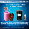 Tin Cured Silicone Rubber for Delicated Candle and Soap Making