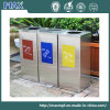 Free Combination Recycling Open Top Waste Bin Made by Metal