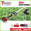25.4cc Gasoline Brush Cutter with Bent Shaft