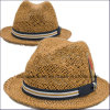 Paper Straw Fedora Hats for Women (CPA_60229)
