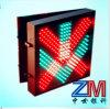 LED Flashing Traffic Lane Control Signal Light with Red Cross & Green Arrow