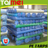 100% Virgin HDPE Woven Fabric PE Tarpaulin / PE Sheet Roll
