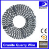 Sintered Pre-Opened Diamond Cutting Wire Saw for Granite Quarry