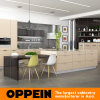 Oppein Hot Sale Soft Beige Melamine Wooden Kitchen Cabinet (OP16-M03)