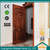 Carve Patterns Solid Wooden Door for Hotel (WHB03)