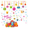 Wholesale Christmas Holiday Wall Decoration Wall Sticker