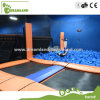 Made in China TUV Certified Duty Free Kids Indoor Olympic Trampoline for Sale