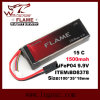 Flame 9.9V 1000mAh 15c LiFePO4 LFP Battery for Peq-15 Box