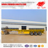 Flatbed Trailer for 40FT/2*20FT Container Loading Semi Trailer