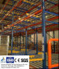 Heavy Duty Flow-Through Rack for Warehouse Storage