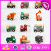 2015 Promotion Gift Kid Wooden Mini Toy Car, Best Selling Children Mini Toy Car, Different Shape Cheap Wooden Mini Toy Car W04A156