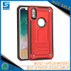 Red Colourful Defender Cell Phone Case for iPhone 10