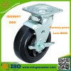 Side Mount Black Rubber Wheels Heavy Duty Caster