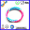 2015 Colorful Embossed Bracelets Silicone Bracelets