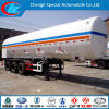 China Cooking Gas Vessels Three Axle LPG Tanker Trailer Bulk LPG Tank Trailer Liquefied Pertoleum Tri-Axle LPG Tanker Semi