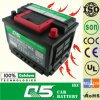 DIN55 MF, China OEM 12V 55ah Rocket Batteries Model
