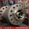 Cast Steel Wcb Nozzle Type Axial Flow Check Valve