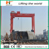 Heavy Duty Double Girder Travelling Gantry Crane for Store Yard