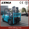 Small Manual Forklift Truck 3.5 Ton Diesel Forklift with 6m Lifting Height