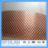 Custom Size Flat Round Brass Wire Mesh Filter Disc