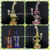 Mothership Fab Egg Glass Smoking Water Pipes Colored Recycler Pipe