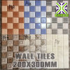 High Quality Bathroom and Kitchen Wall Tile Design Digital Wall Tile 20X30