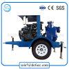 Trailer Mounted Air Cooler Self Priming Diesel Dewatering Water Pump