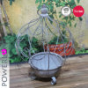Eco-Friendly 2017 Newest Cheap Lovely Fashion Decorative Iron Metal Flower Pot