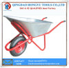 Wb6404 Russia Hot Sale 90L Metal Tray Wheelbarrows