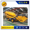 Self-Loading Rotary Drum Concrete Mixer with 4.0m3 Output