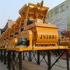 Twin Shaft Concrete Machine Concrete Mixer (JS500)