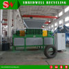 Patent Design Scrap Tire Shredder for Waste Tyre Recycling
