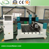 4 Axis Rotary Stone CNC Router Machine for Carving Column