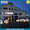 Hot Sale Event Decoration Supplies Inflatable Ground Ball with LED Light for Sale