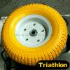 Heavy Handtruck Flat Free PU Foam Tyres 13X5.00-6 Round Turf