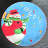 Christmas Tableware Hand Painted Ceramic Plate (GW1290)