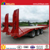 3 Axles Heavy Duty Semi Lowbed Trailer