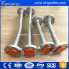 High Pressure Stainless Steel Braided Convuluted Teflon Hose Assembly