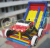 New Design Hot Sale Inflatable Litte Car Slide Chsl243