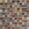 Copper with Glass and Marble Mosaic (CFM954)