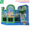 Ocean Theme Inflatable Combo, Inflatable Bouncer Slide Combo