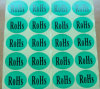 Oval RoHS Certification Labeling Stickers
