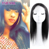 Natural Color Brazilian Natural Straight Human Hair Wig