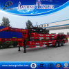 Gooseneck 3 Axle Skeleton Semi Trailer, 40FT Skeleton Semi Trailer for Sale