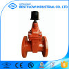 DIN3352 F4 En1711 Cast Iron Gate Valve with Brass Seat